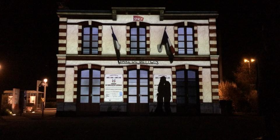 video mapping Betton Bretagne